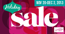 2013 Holiday Sale